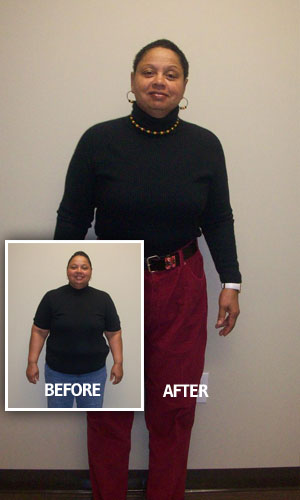 Lost 58 pounds