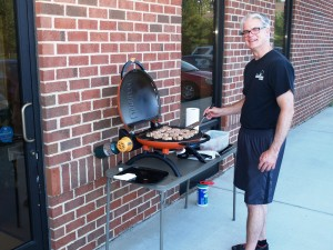 July 2013 Cookout Dr. Clark at the Grill!