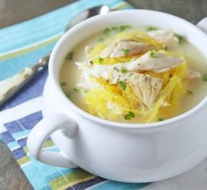 Greek Chicken, Lemon & Egg Soup