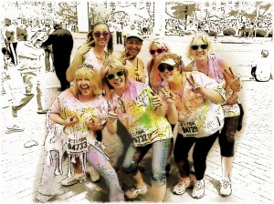 CFWLS at Color Me Rad 2013